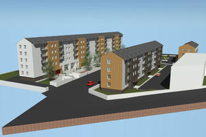 Requalification de 76 logements collectifs Nantes (44)
